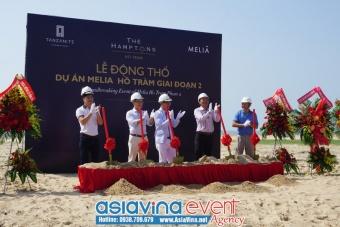 Lễ Khởi Công Dự Án Melia Hồ Tràm Giai Đoạn 2.